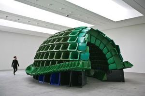 Brian Jungen turtle shell
